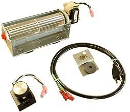 FireplaceBlowersOnline LP-4500 Low Profile Fireplace Blower Fan Kit | Universal Fit, Quiet, Efficient, High Airflow, Ball Bearing Motor