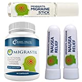 Migrastil Migraine Relief Kit, with Migraine Stick®, Capsules & Nausea Inhaler