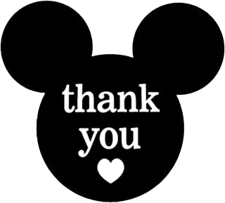 2.25 x 2 Inch Mickey Mouse Thank You Stickers | Mickey Stickers Thank You Labels for Birthday Baby Shower Party Thank You Cards Envelope Seals | Labels & Maling Supplies | 520 Labels/Pack