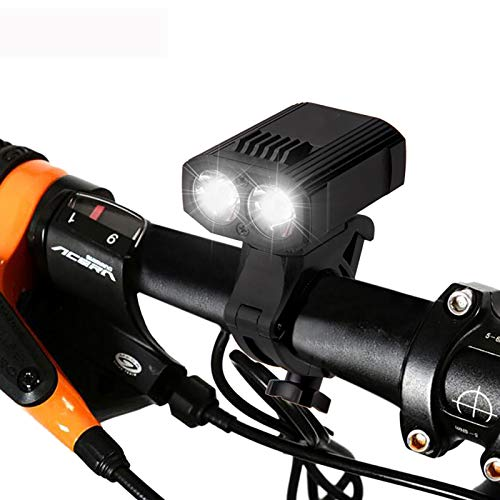 FDYZS Luces de Bicicleta Recargables LED Frontal Bike Light Road USB Ciclo Luces Easy Mount Cycling Lights Se Adapta a Todas Las Bicicletas