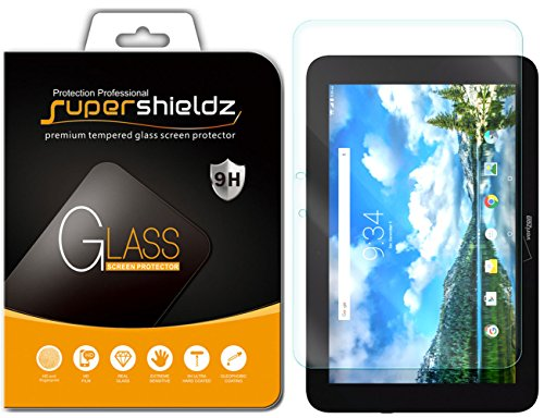 Supershieldz for Verizon (Ellipsis 10) (Not Fit for Ellipsis 10 HD) Tempered Glass Screen Protector, Anti Scratch, Bubble Free