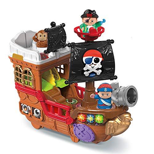 VTech Tut Tut Copains - Barco Pirata 2 en 1, Barco Pirata para niños, versión FR