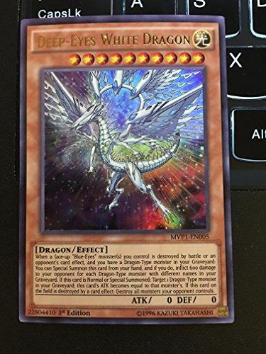 YU-GI-OH! - Deep-Eyes White Dragon (MVP1-EN005) - The Dark Side of Dimensions Movie Pack - 1st Edition - Ultra Rare