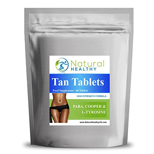 60 Tan Pills - Tanning Tablets - Fast Bronze - Slim and tan - Get a Faster Better Bronze Colour with Less Sunshine. Limited time Promotion