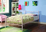 Coaster Home Furnishings 400030T Twin Bed, Pink