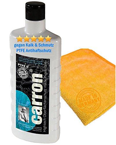 carron PTFE-II Acryl-Glas-Versiegelung Set gegen Kalk-Schmutz Dusche Duschwand Badewanne Duschkabine Fliesen dauerhaft reinigen