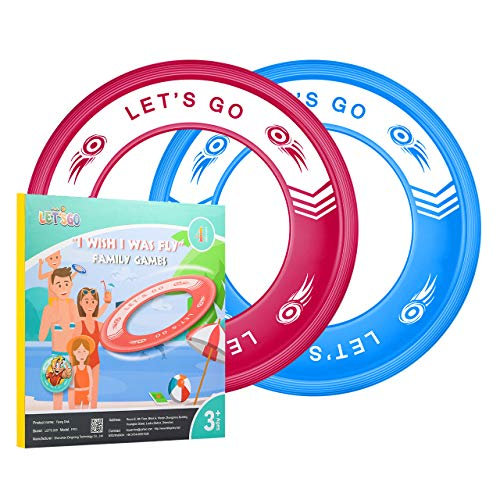 ATOPDREAM Cool Toys for 312 Year Old Boys Frisbees for Kids Outdoor Toys for Kids Age 312 Easy Throwing Disc Flying Rings for Kids Xmas Gifts for 312 Year Old Boys Girls Stocking Stuffers Fillers