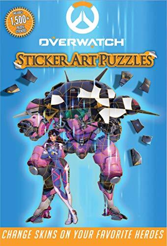 Overwatch Sticker Art Puzzles