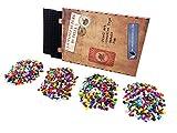 La Manufacture du Pixel - Kit 2 Tapis et 3600 Pixels à insérer (Noir) - Pixel Art,...