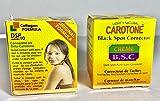2 pieces of Carotone Maximum Black Spot Corrector Cream 30ml