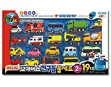 Tayo Little Bus Friends Special Full 19pcs Set Cars Toys Ver.2 Full Minicar Gift Set for Boys Birthday