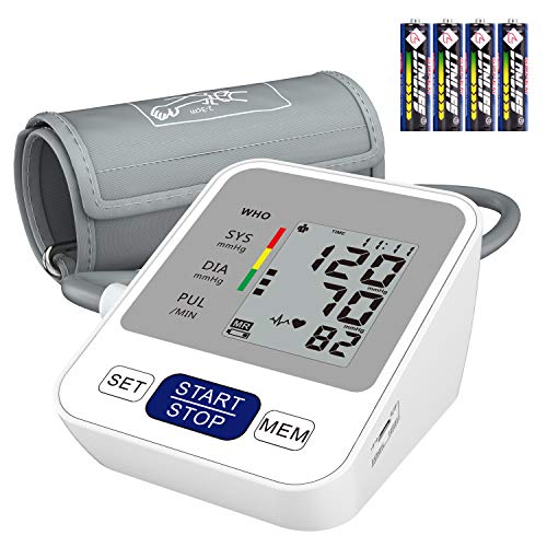 Upper Arm Blood Pressure Monitor,Blood Pressure Machine,Digital Automatic...