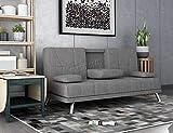 <span class='highlight'><span class='highlight'>WestWood</span></span> Fabric Manhattan Sofa Bed Recliner 3 Seater Modern Luxury Design Furniture Grey New