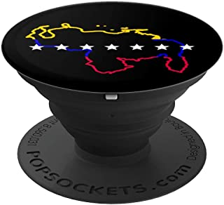 Venezuela seven stars map flag tricolor - PopSockets Grip and Stand for Phones and Tablets