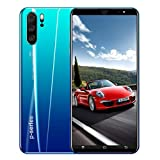 New Unlocked Smartphone, 5.0 inch Dual SIM HD Camera 1G+4GB Android 5.1 Water Screen GPS WiFi Unlocked Cell Phones (Blue)