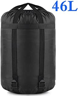 Borogo Compression Stuff Sack, 24L/46L Sleeping Bags Storage Stuff Sack Organizer Waterproof Camping Hiking Backpacking Bag for Travel - Great Sleeping Bags Clothes Camping Hiking