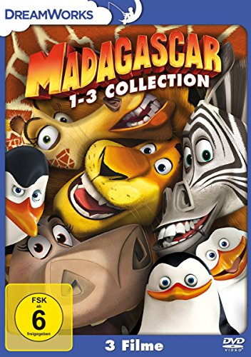 Madagascar 1-3 [3 DVDs]