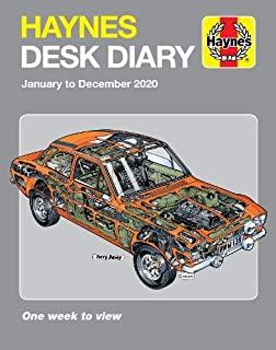 Haynes 2020 Desk Diary: January to December 2020. One week to view.