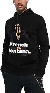 Komlyt French Montana Casual Men's Hoodie Sweatshirt Black
