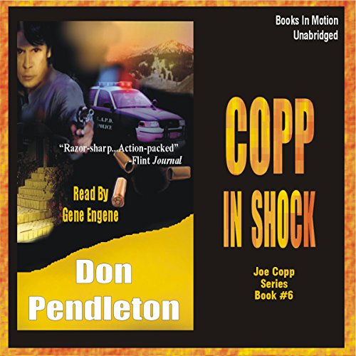 Copp in Shock audiobook cover art