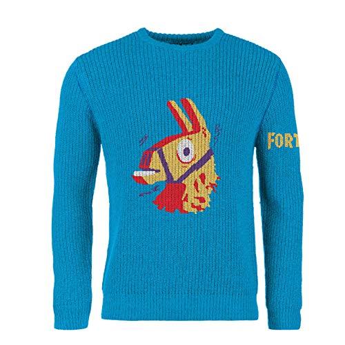 Fortnite Sudaderas Llama Personajes Videojuego Ropa Nino Hombre Camiseta Fornite Twich (Adultos M, La Llama Dorada)