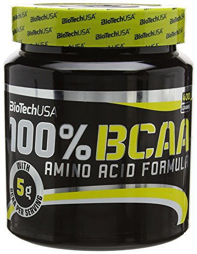 Biotech 5 g Branched Bcaa 100 Percent 400G Amino Acids