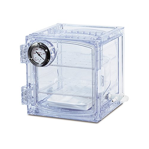 Bel-Art Lab Companion Clear Polycarbonate Cabinet Style Vacuum Desiccator; 11 Liter (F42400-4001), 424004001