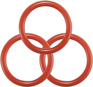 Litorange 40PCS 226 Silicone O-Ring, 50A Durometer, Red, 2