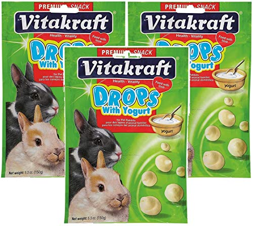 Vitakraft Yogurt Drops for Rabbits - 3 PACK