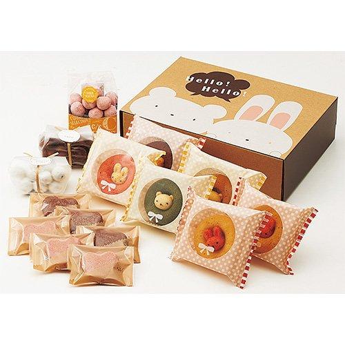 洋菓子 セット アニマル ドーナツ & 焼菓子 セット B