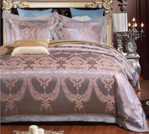 Purchase HUROohj Satin Jacquard,The New Bedding Four Sets,European Style£¬Bedding Kits£¨ 4 Pcs£...