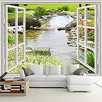 カスタム写真の壁紙3D風景壁写真モダンなリビングルームの寝室防水絵画の背景