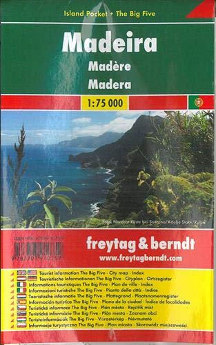 Madeira, Autokarte 1:75.000, Island Pocket + The Big Five