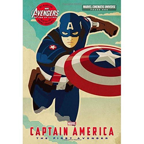 Amazon com: Phase One: Captain America: The First Avenger (Marvel