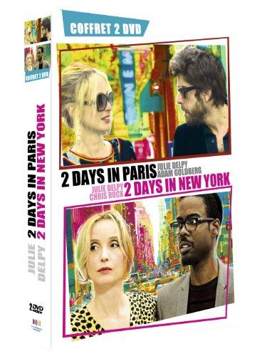 coffret : 2 DAYS IN PARIS + 2 DAYS IN NEW YORK