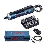 Parafusadeira Bosch Go 3,6v Bivolt com Maleta e Kit 33 pe as