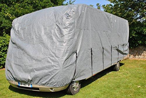 HBCOLLECTION Premium Atmungsaktive Schutzhülle für Integrierte Wohnmobile Reisemobile (LxlxH 7.00x2.50x2.60m)