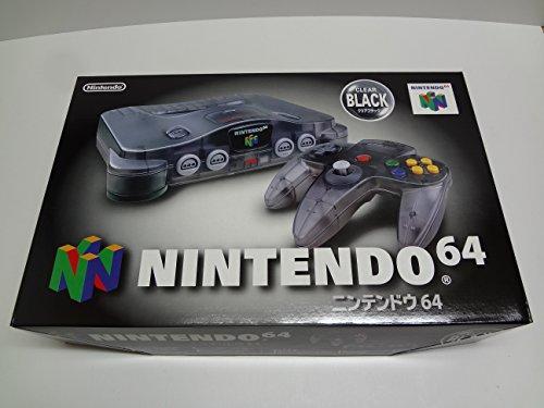 ニンテンドー64 クリア・ブラック 本体 Nintendo 64 Clear Black system