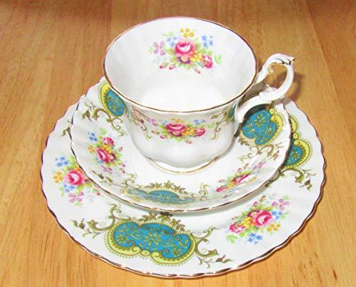 Royal Albert Berkeley - Juego de 3 tazas de porcelana china
