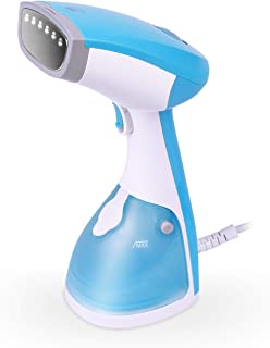 MLMLANT Hand Clothes Fabric Steamer,1200W Handheld Garment steam Iron Wrinkles Curtains Remover for Home and Travel,Vertically & Horizontally, 30s Fast Heat up Automatic Shut-Off