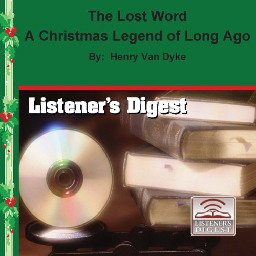 The Lost Word audiobook cover art