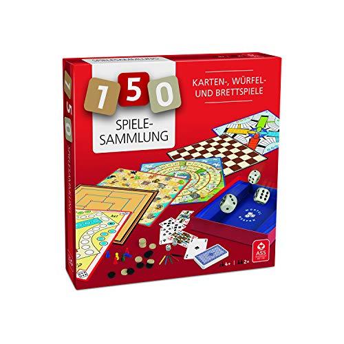 Knigsfurt-Urania Ass-Spielesammlung 150: Karten-, Würfel- und Brettspiele