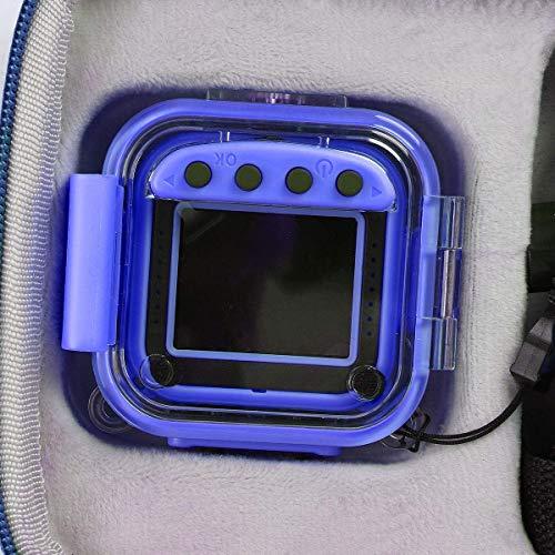 Khanka Tasche Case für DROGRACE/OurLife/Welltop Kinder Underwater Action Kamera kinderkamera Camcorder.(Nur Tasche,blau)