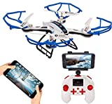 Amitasha Remote Control WiFi Camera Drone Flying Quad-Copter with Charger and Extra Parts