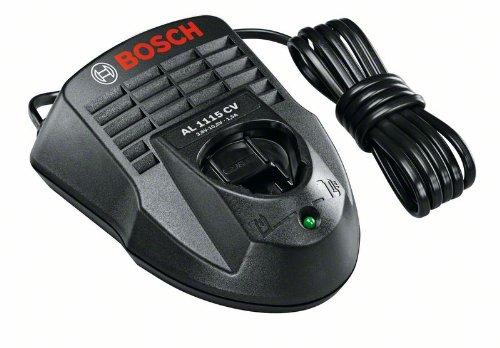 Bosch DIY Schnellladegerät AL 1115 CV für 10,8 und 12 V (1,5 A, 230 V Eingangsspannung)