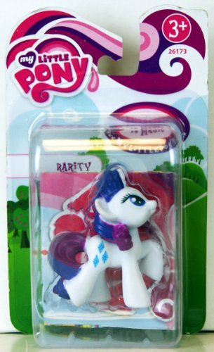 My little Pony - 26173 - FRiENDSHiP iS MAGiC - Mini-Pony - Rarity - ca. 5cm