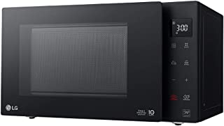 LG 23 Liters NeoChef Microwave Oven, with Smart Invertor & White LED Display - Black - MS2336GIB