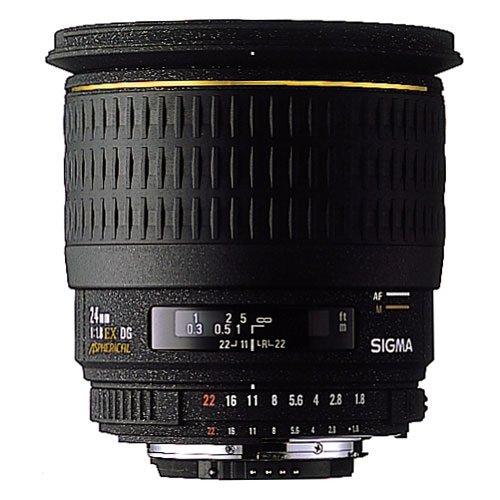 Sigma 24 mm F1,8 EX DG Makro-Objektiv (77 mm Filtergewinde) für Pentax Objektivbajonett