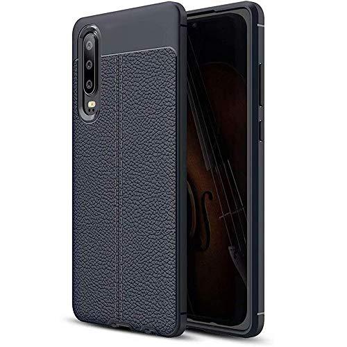 Gnohnay - Carcasa para Huawei P9 Plus, ultrafina, antiarañazos, silicona TPU suave, antihuellas, a prueba de golpes, para Huawei P9Plus/P10/P10 Plus/P10 Lite/Mate10 Pro, color azul, Huawei Mate10