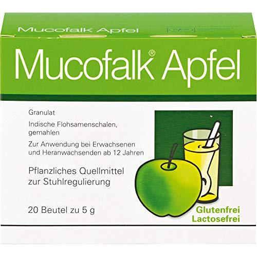 Mucofalk Apfel Granulat Quellmittel zur Stuhlregulierung, 20 St. Beutel
